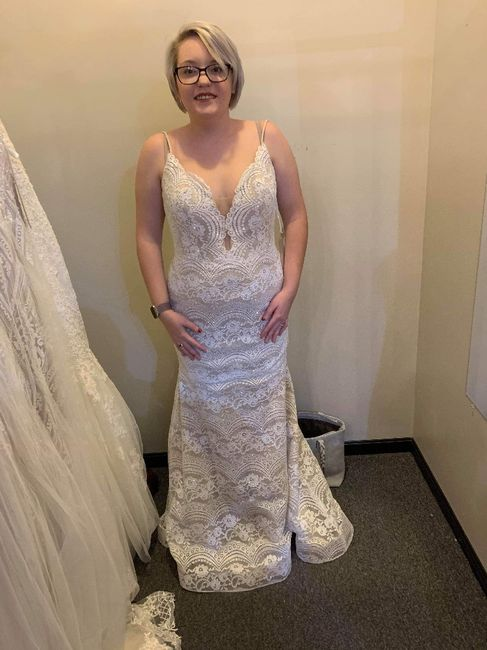 White? Ivory? Champagne? What shade is your wedding dress? 2