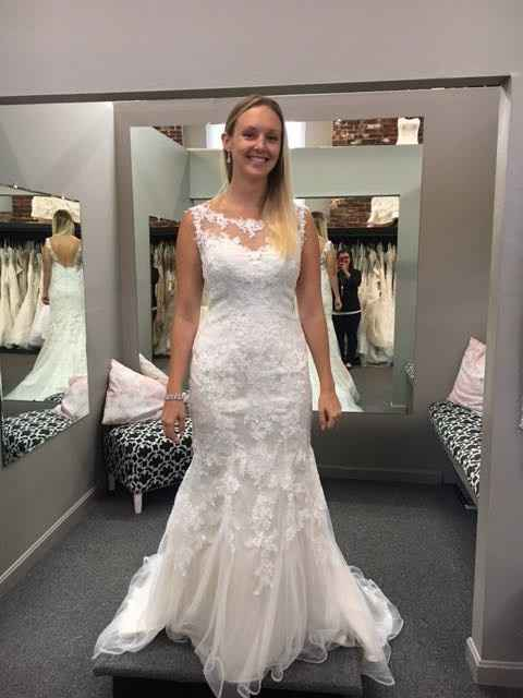Final fitting, 7 days to go!