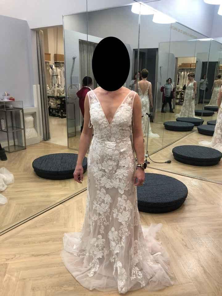unaltered dress