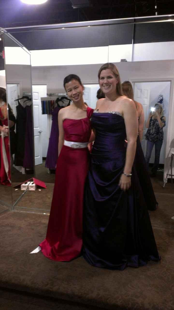 Show me your bridesmaid dresses