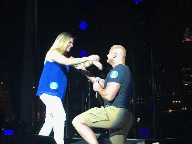 Amazing engagement!! 3