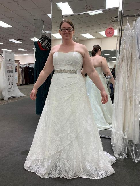 For 2019 and 2020 Brides who is done Dress Shopping? 8