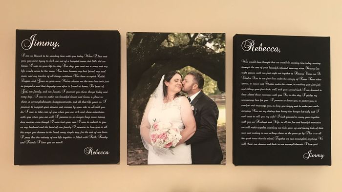 Vows On Canvas *love* 1