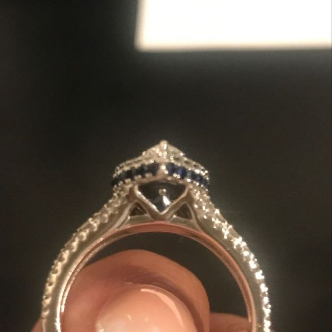 Who else has gemstones in their ring(s)?  Let's see them! 18