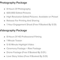 How much did you/ are you paying for a photographer. - 1