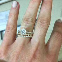 Which wedding band stack?? - 2