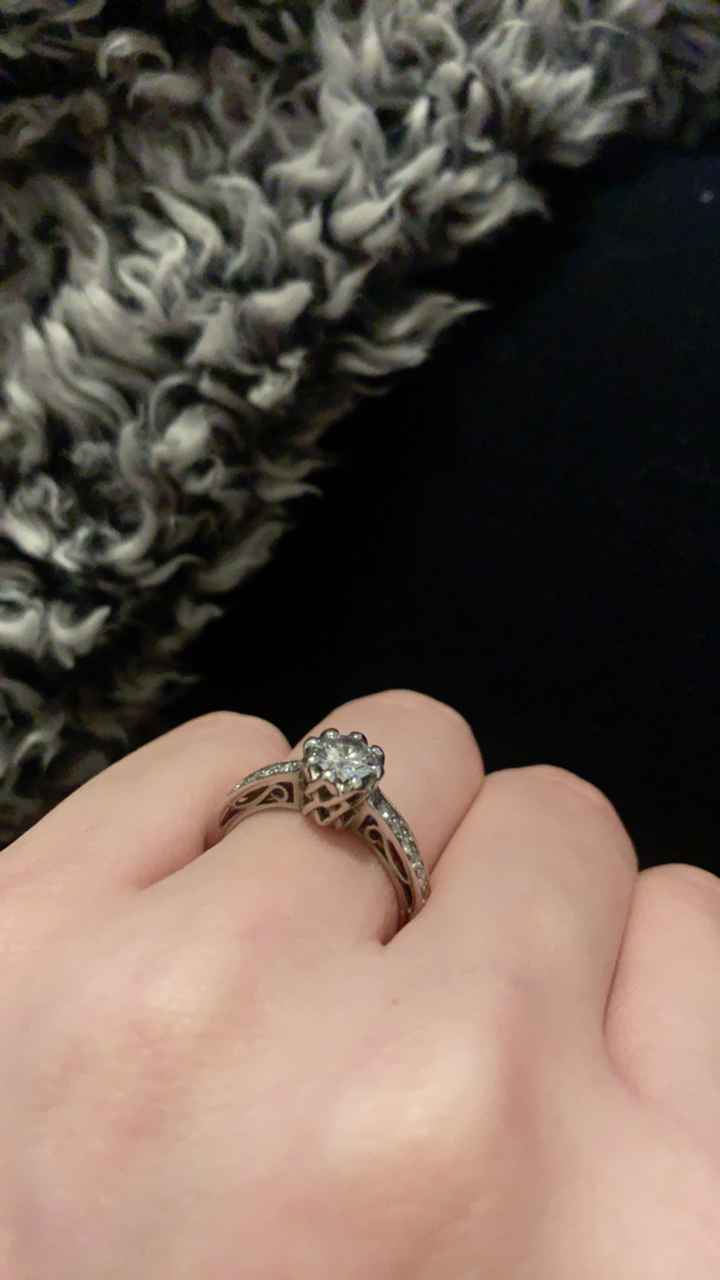 Did you pick your ring or were you completely surprised? - 1