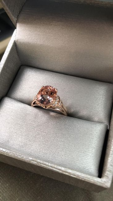 Are we supposed to match the color of the metal of our e-ring to our bridal jewelry? 1