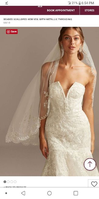 Veil for mermaid dress? Photos please or suggestions? (picture!) 2