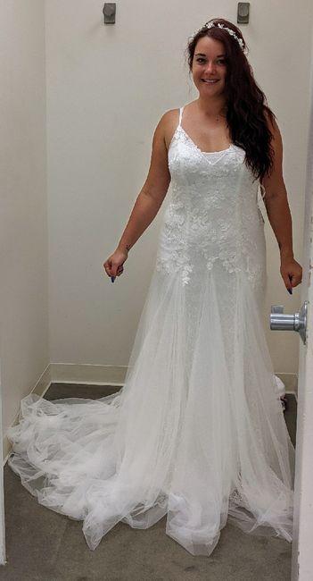 Changing mind on wedding dress 5