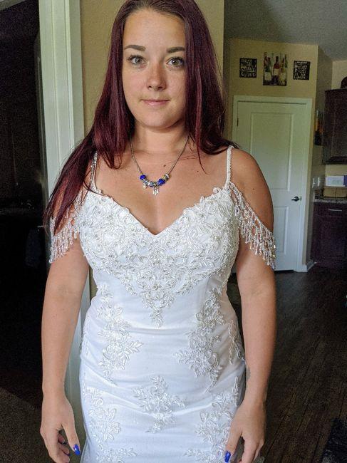 Changing mind on wedding dress 10