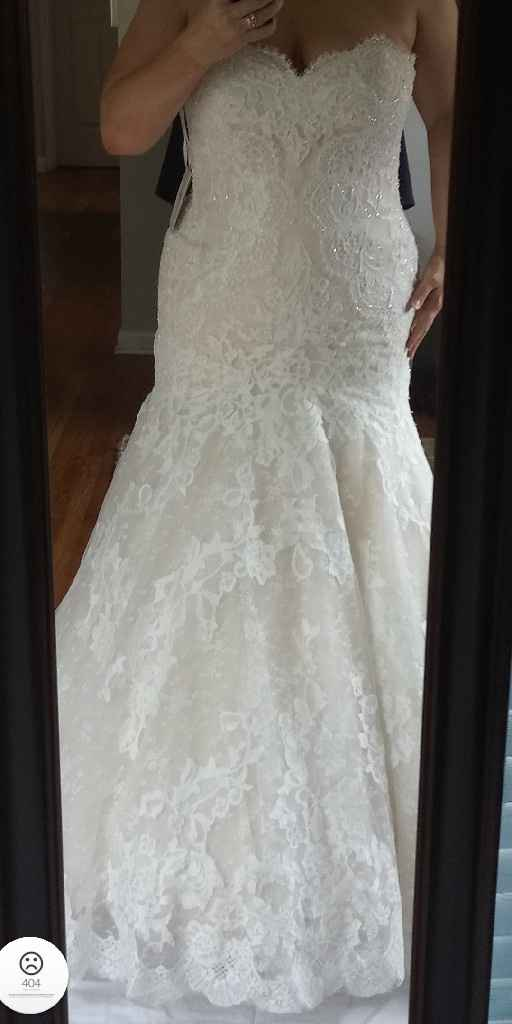 Wedding dress contenders (aka rejects) - 2