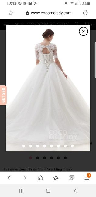 Thoughts on veil with dress 2