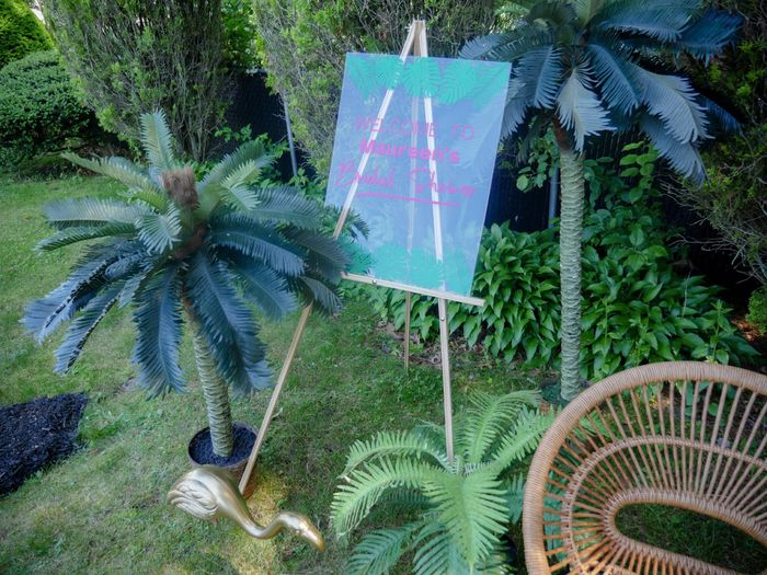 Pic heavy - Tropical Bridal Shower 1
