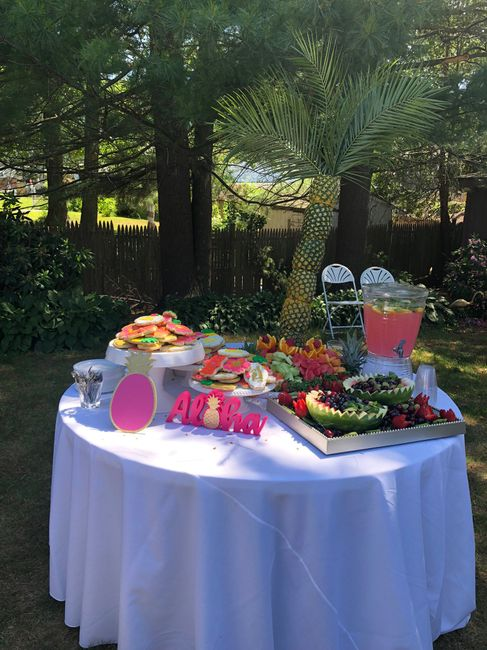 Pic heavy - Tropical Bridal Shower 2
