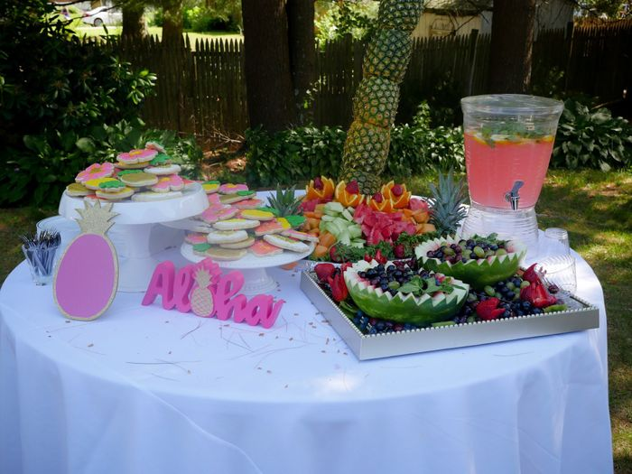 Pic heavy - Tropical Bridal Shower 3