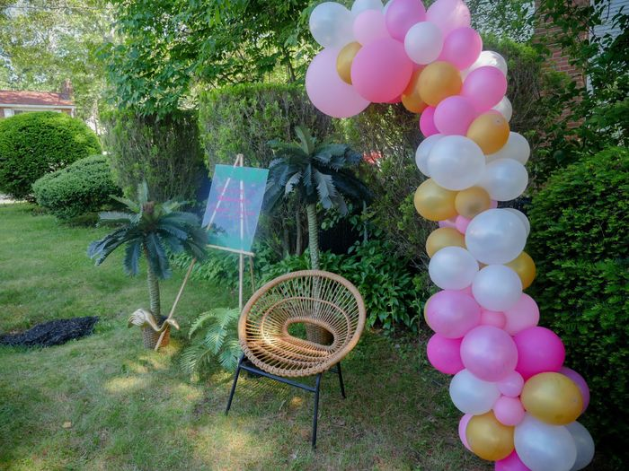 Pic heavy - Tropical Bridal Shower 5