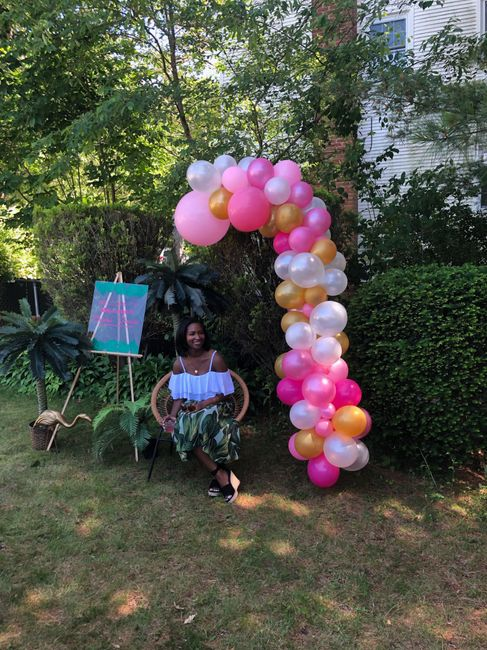 Pic heavy - Tropical Bridal Shower 6