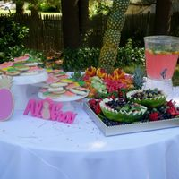 Pic heavy - Tropical Bridal Shower - 3