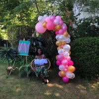Pic heavy - Tropical Bridal Shower - 6