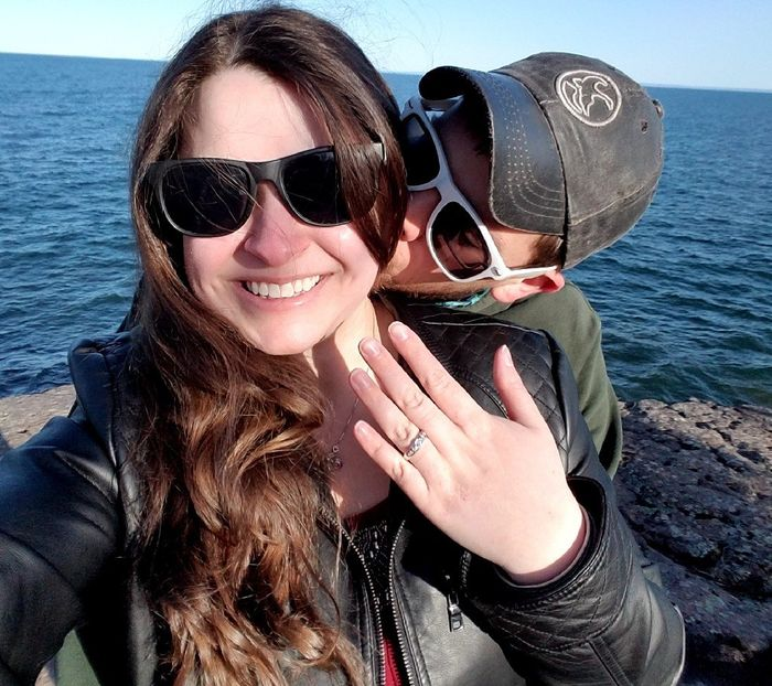 Did you announce your engagement on social media? 3