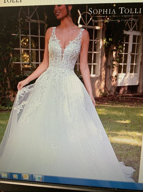 Wedding gown infatuation - 1