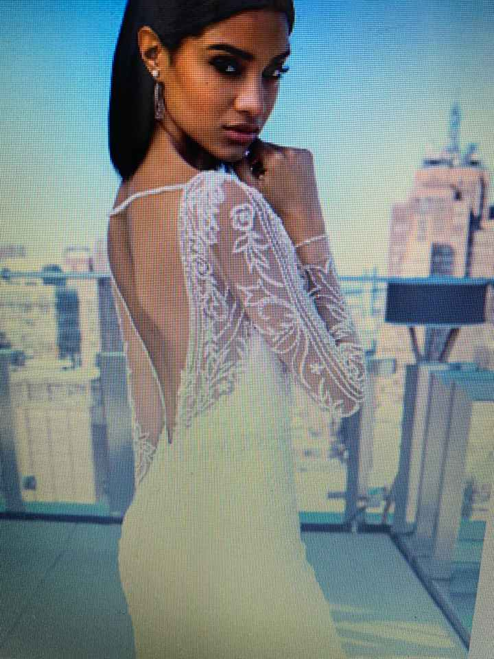 Any Long sleeved brides or brides to be out there? - 2