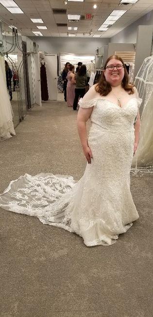 Mermaid/trumpet wedding gowns! 2
