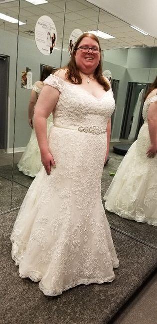 Found my dress! 7