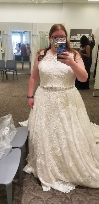 Is David's bridal a good place for my wedding gown 2