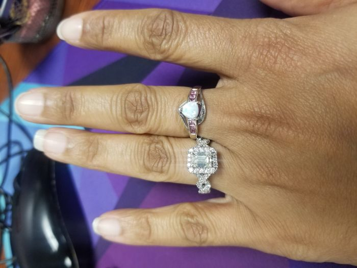 Can i start a new ring thread! Let's see that bling! 4