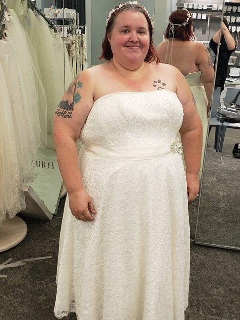 i Said Yes To My Dress!!!!! 7