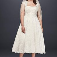 My wedding dress, i absolutely love it, adding sleeves!  Anyone else wearing a ball gown?? - 1
