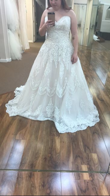 How much are Madison James Allure wedding dresses 4