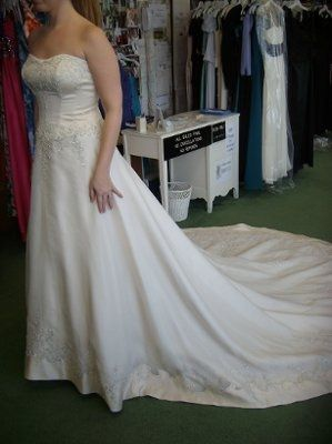 Picked up my dress yesterday!