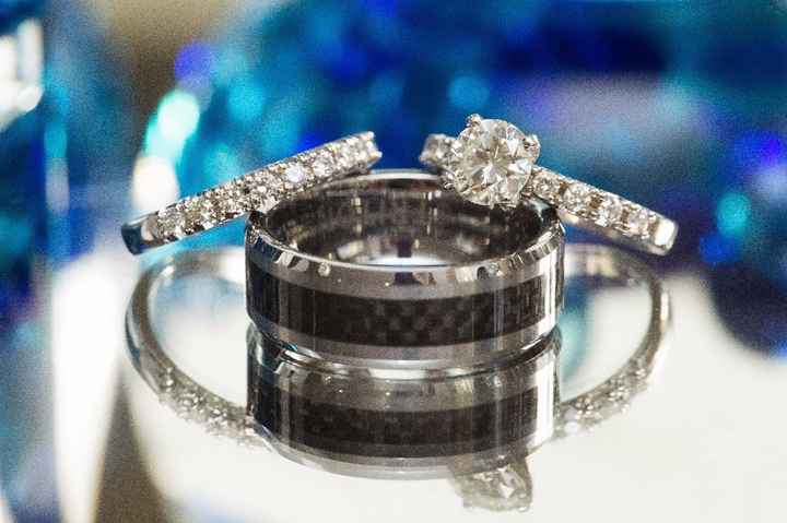 Mismatched rings - His and Hers - 1