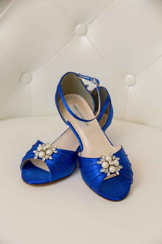 Wedding Day/bridal Shower Shoes - 1