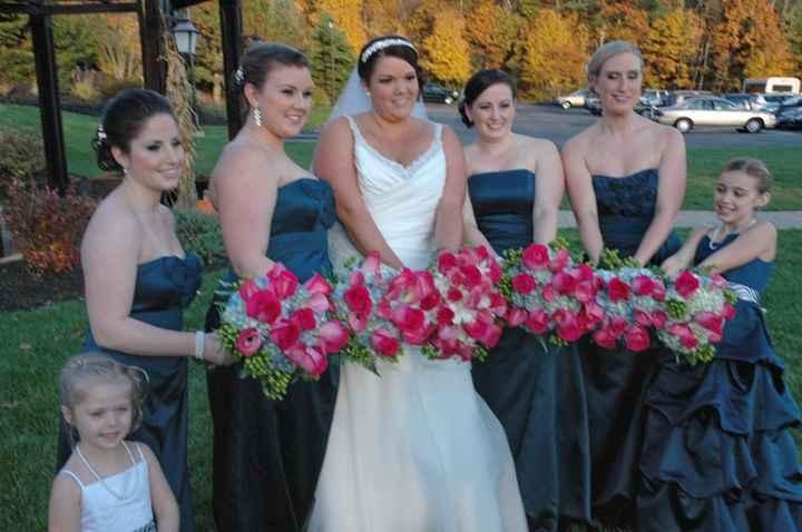 October wedding bouquet?