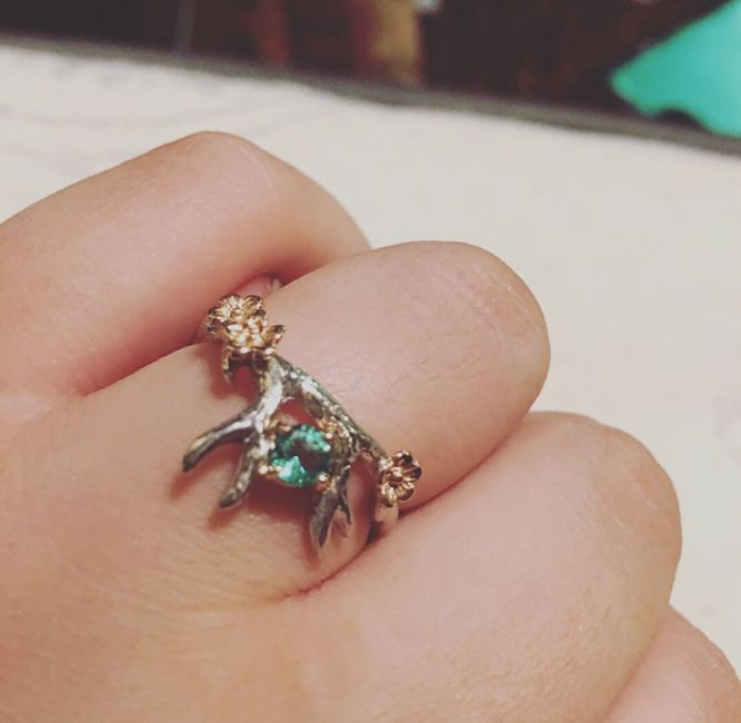 Alternative engagement rings - how to keep them clean? - 1