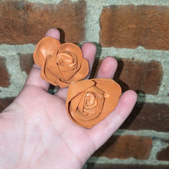 Wooden flowers! 2