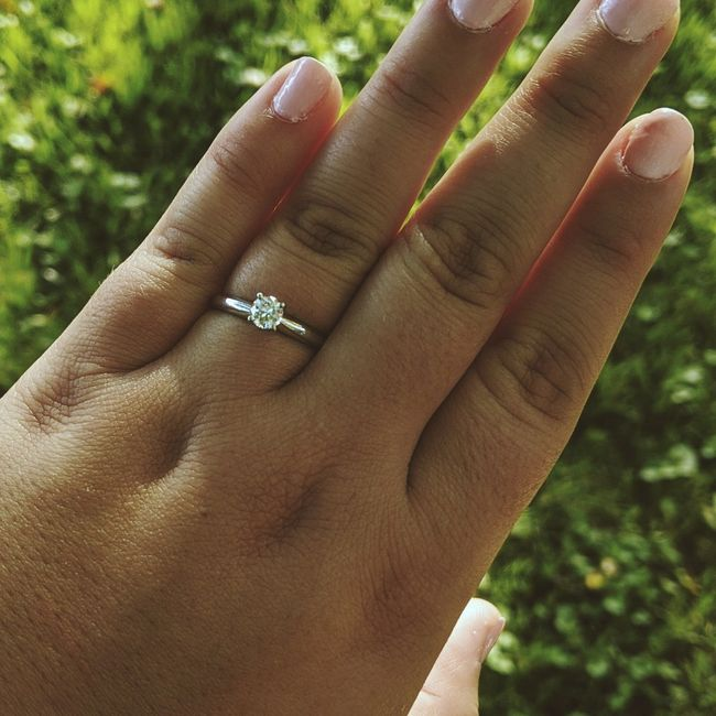 You said yes.. now let's see those RINGS ✨💍💍💍✨ - 1