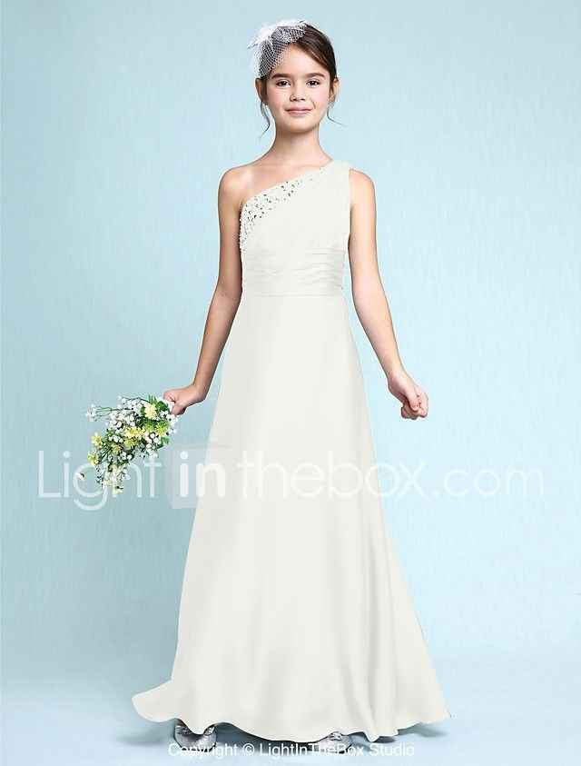 Art Deco Junior Bridesmaid Dress - 3