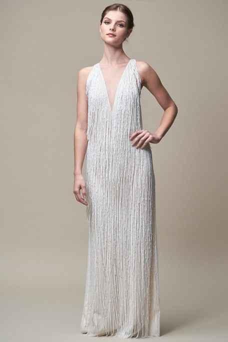 Art Deco Junior Bridesmaid Dress - 5