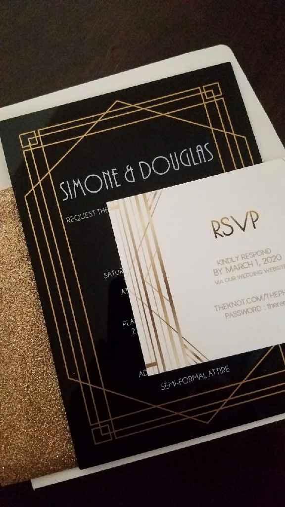 My Acrylic Invitations! - 1