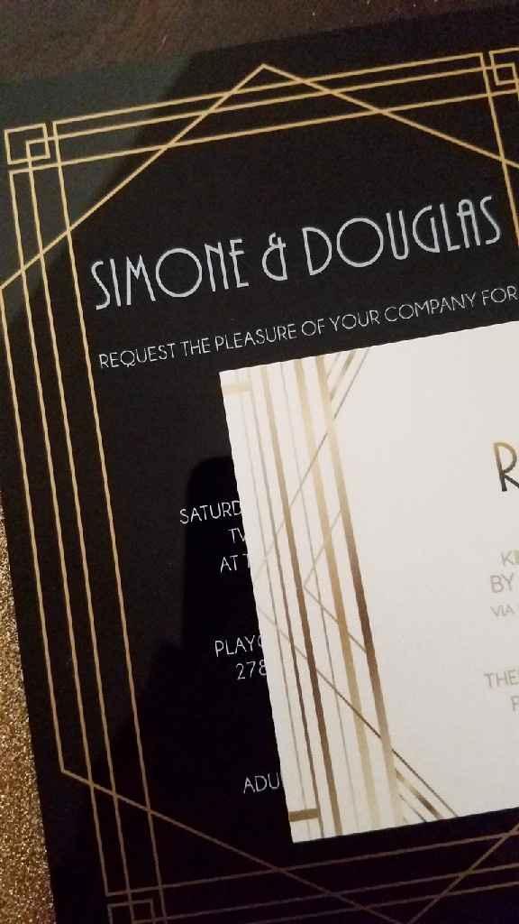 My Acrylic Invitations! - 2