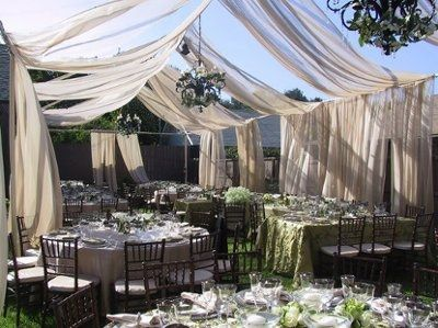 Backyard Wedding Receptions help! backyard wedding??? | weddings, planning | wedding forums