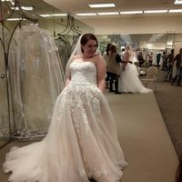 It happened....i am actually experiencing dress regret. - 1