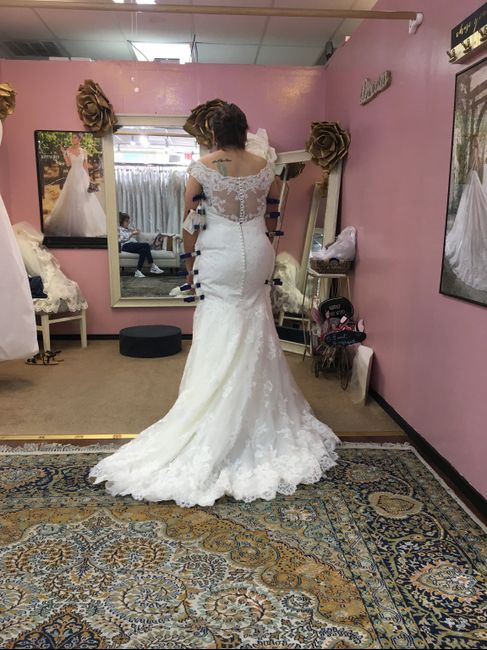 First fitting - 2