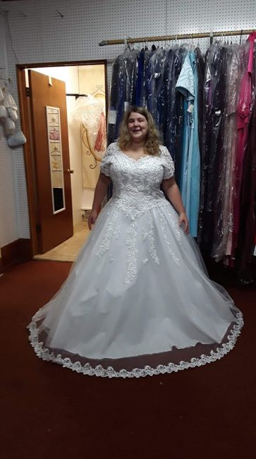 May 2020 brides show me that dress! - 1