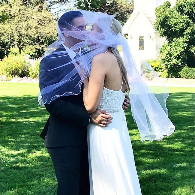 Two Weeks Later, And We're Married! 1